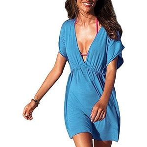 Always for me Womens Swimsuit Cover up Dress, 1X